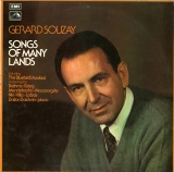 GB EMI HQS1295 ジェラール・スゼー SONGS OF MANY LANDS