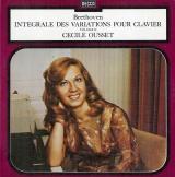 FR DEC 7474/75 セシル・ウーセ ベートーヴェン・ピアノ曲集