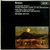 GB  DEC  SXL6110 ベンジャミン・ブリテン ブリテン・青少年のための管弦楽入門