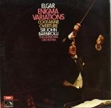 GB EMI ASD548 ジョン・バルビローリ エルガー・創作主題による変奏曲「エニグマ」Op.36,序曲「コケイン」Op.40