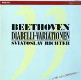 NL PHIL 422 416-1 スヴャトスラフ・リヒテル ベートーヴェン・ディアベリのワルツの主題による33の変奏曲(ライブ録音)
