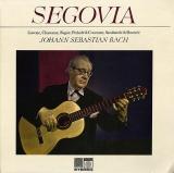 GB SAGA SAGA5248 アンドレス・セゴビア バッハ曲集(ギター演奏)