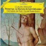GB DGG 2530 879 ダニエル・バレンボイム ドビュッシー・聖セバスティアンの殉教、交響組曲「春」
