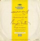 DE DGG LP16 128 クリストフ・シュテップ モーツァルト・6つのコントルダンス、ブリテン・「シンプル・シンフォニー」