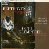 GB COL SAX2542 オットー・クレンペラー レオノーレ序曲1番/2番/3番、フィデリオ序曲