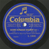 【SP盤】GB COL L1302 PERCY GRAINGER SECOND HUNGARIAN RHAPSODY PART1/PART2