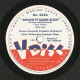 【SP盤】US ARMY 836 Toscanini&Wilhousy ARIANE ET BARBE BLEUE
