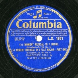 【SP盤】GB COL L.X.1591 WALTER GIESEKING MOMENT MUSICAL