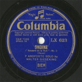 【SP盤】GB COL LX623 WALTER GIESEKING ONDINE/POISSONS D OR
