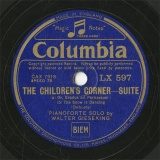 【SP盤】GB COL LX597 WALTER GIESEKING THE CHILDREN S CORNER-SUITE