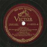 【SP盤】US RCA 11-8593 Sergei Rachmaninoff THE SMUGGLER/THE RETURN HOME/THE MAIDEN S WISH