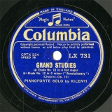 【SP盤】GB COL LX731 KILENYI GRAND STUDIES Etude No.10/No.12(「Revolutionary」)/No.5(「Black Key」)/No.6