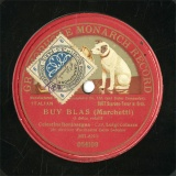 【SP盤】IT HMV 54109 Celestina Boninsegna&Luigi Colazza BUY BLAS