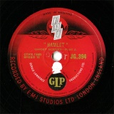 【SP盤】GB EMI JG.394 GERALD LAWRENCE 「HAMLET」 GHOST SCENES-PART2./PART4