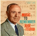 US  RCA  LM1981 ホセ・イトゥルビ  MUSIC TO REMEMBER JOSE ITURBI