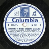 【SP盤】GB COL LX757-8 HENRY J.WOOD SERENADE TO MUSIC