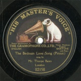 【SP盤】GB HMV 2158 Thorpe Bates The Bedouin Love Song