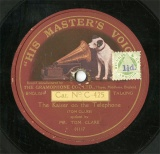 【SP盤】GB HMV C-425 TOM CLARE The Kaiser on the Telephone/Silly Ass