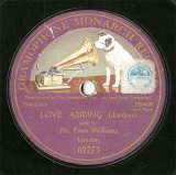 【SP盤】GB HMV 2273 Eva Williams LOVE ABIDING