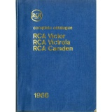 GB  RCA  1966 COMPLETE CATALOGUE RCA1966 NOT FOR SALE EMI LIST BOOK