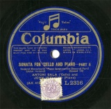 【SP盤】GB HMV L2316 ANTONI SALA&JOHN IRELAND SONATA FOR CELLO AND PIANO-PART5/PART6