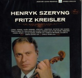 US  MERCURY   SR903488 シェリング  PLAYS THE MUSIC OF FRITZ KREISLER