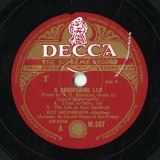 【SP盤】GB  DEC M.507 ROY HENDERSON George Butterworth