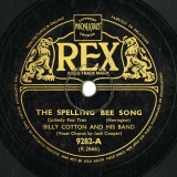 【SP盤】GB  REX 9282-A Jack Cooper THE SPELLING BEE SONG