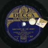 【SP盤】GB  DEC F.7617 ALBERT W.KETELBEY SANCTUARY OF THE HEART/GALLANTRY