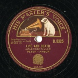 【SP盤】GB  HMV B.8325 PETER DAWSON COLERIDGE-TAYLOR LIFE AND DEATH/RAMON A SEA CALL