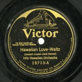 【SP盤】GB  VTM 19713 joseph lopez jack Hawaiian Love-Waltz/Beautiful Gown-Fox Trot