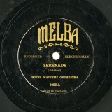 【SP盤】GB  MELBA 1026 HOTEL MAJESTIC ORCHESTRA/NEWPORT BRASS BAND SERENADE/RAYMOND OVERTURE