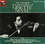GB EMI RLS739 ジネット・ヌヴー THE COMPLETE RECORDED LEGACY OF GINETTE NEVEU