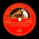 【SP盤】GB HMV D.B.3515 ARTURO TOSCANINI HAYDN SYMPHONY NO.88 IN G MAJOR (G DUR)
