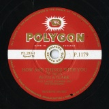 【SP盤】GB POLYGON P.1179 PETULA CLARK H. Ogilvie HOW ARE THINGS WITH YOU/Arthur K. Absalom, Gerry Davis TUNA PUNA TRINIDAD
