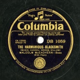 【SP盤】GB COL DB1059 MALCOLM McEACHERN HANDEL THE HARMONIOUS BLACKSMITH/SCHUMANN THE MERRY PEASANT
