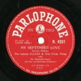 【SP盤】GB PARLO R.4251 The famous ECCLES & Miss Freda Thing/JIM MORIARTY Evans-Mullan MY SEPTEMBER LOVE/Milligan You Gotta Go OWW!