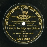 【SP盤】GB GRA G.C.-3-2902 JOHN HARRISON Clutsam I know of two bright eyes