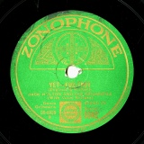 【SP盤】GB ZON 6042 JACK HYLTON England&Hulbert YET -FOX-TROT/Solman&Brown LITTLE SWEETHEART OF THE PRAIRIE Waltz