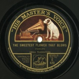 【SP盤】GB HMV E 423 EDNA THORNTON HAWLEY THE SWEETEST FLOWER THAT BLOWS/C.E. HORN ON THE BANKS OF ALLAN WATER