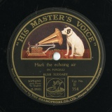 "【SP盤】GB HMV E 354 ELSIE SUDDABY H. PURCELL Hark the echoing air/When I am laid in earth (""DIDO AND AENEAS"")"