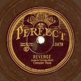 【SP盤】US PERFECT 12478 Chester Hale Lewis-Young-Akst REVENGE/Brainard-Jones Remember Me