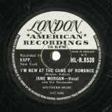 【SP盤】GB LON HL-R.8539 JANE MORGAN Brenner,Pollock I M NEW AT THE GAME OF ROMANCE/Cahn,Styne IT S BEEN A LONG LONG TIME