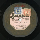 【SP盤】GB PATHE 11373 GEORGE ACKROYD Brewer THE COMET/Fane WHISTLE FOR ME