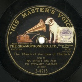 【SP盤】GB GRA 2-4213 ERNEST PIKE AND STEWART GARDNER The March of the men of Harlech