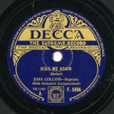 【SP盤】GB DEC F.5096 JOSE COLLINS Herbert KISS ME AGAIN/Coward I LL SEE YOU AGAIN