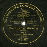 【SP盤】GB GRA G.C.-3277 KIRKBY LUNN NEVINS One Spring Morning