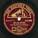 【SP盤】GB HMV B.D.5448 GERALDO Heyman-Mann,Weiss THEY SAY -FOX-TROT/Harry Woods IF EVER A HEART WAS IN THE RIGHT PLACE