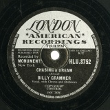 【SP盤】GB LON HLU.8752 BILLY GRAMMER FLOOD, CHASING ADREAM/CLAYTON, GOTTA TRAVEL ON