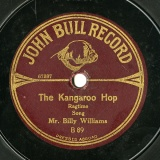 【SP盤】GB JBR B89 BILLY WILLIAMS RAGTIME, THE KANGAROO HOP / MY FATHER WAS BORN IN LILLARNEY